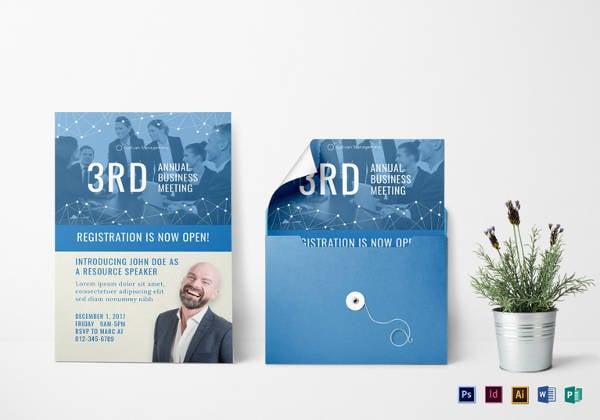 52 meeting invitation designs free premium templates