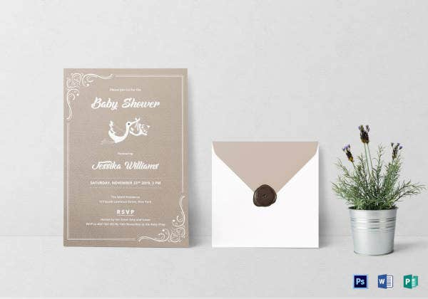 baby shower invitation template1