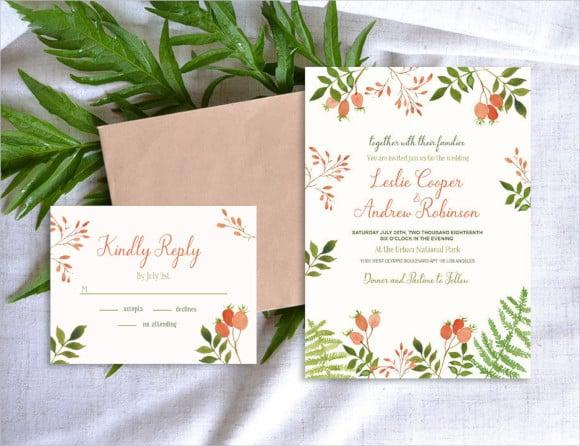 beautiful floral wedding templates