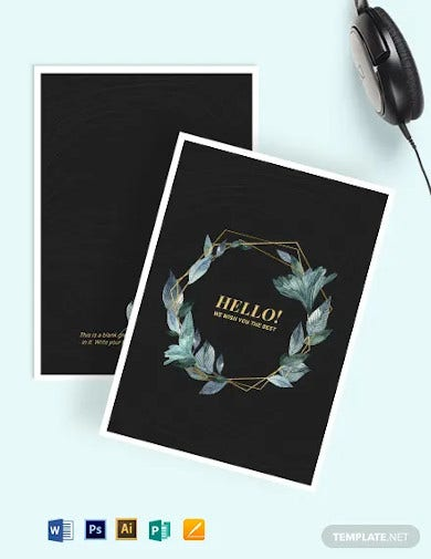 blank greeting card template1