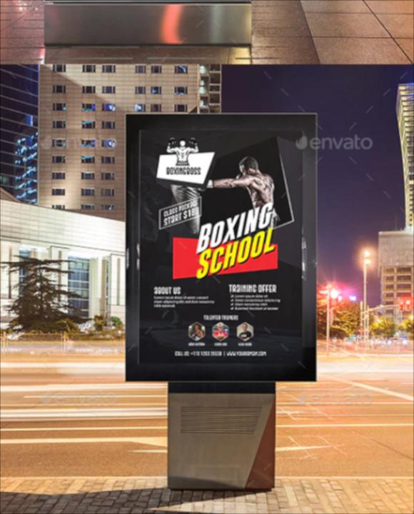 boxing-school-poster