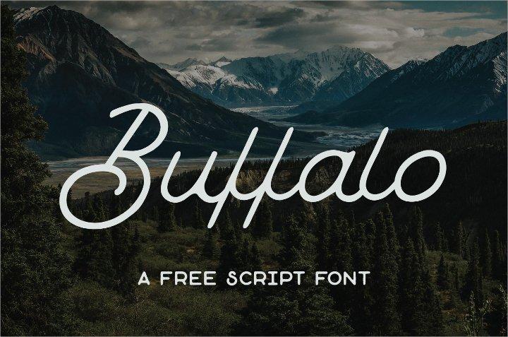 buffalo-script-font1