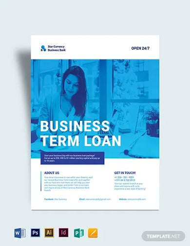business banking flyer