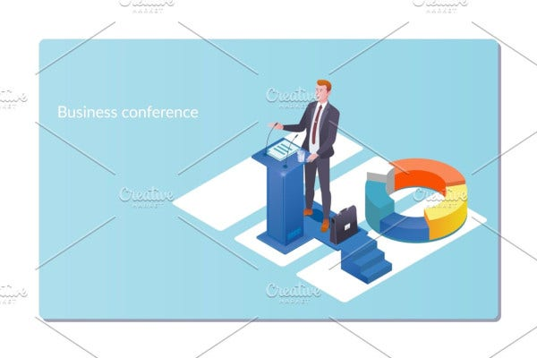business conference meeting invitation