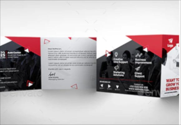 business event invitation card template
