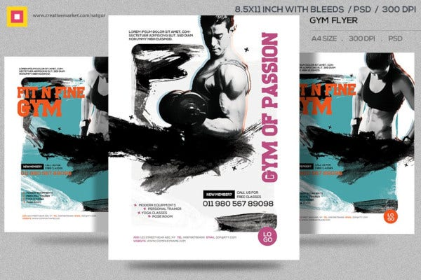 business fitness flyer 1