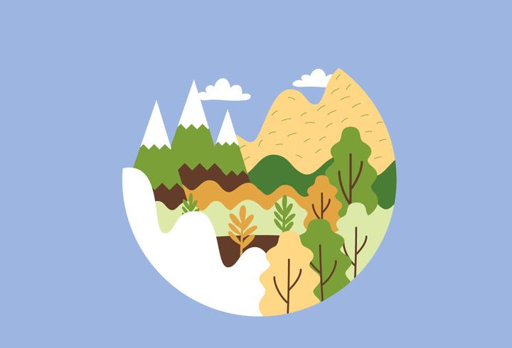 circular mountain