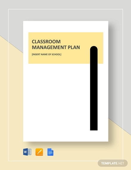 classroom management plan template1