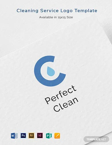 cleaning services logo template