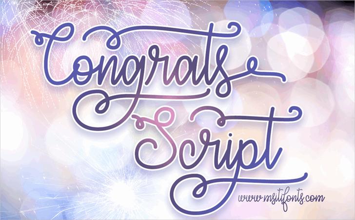 congrats-script