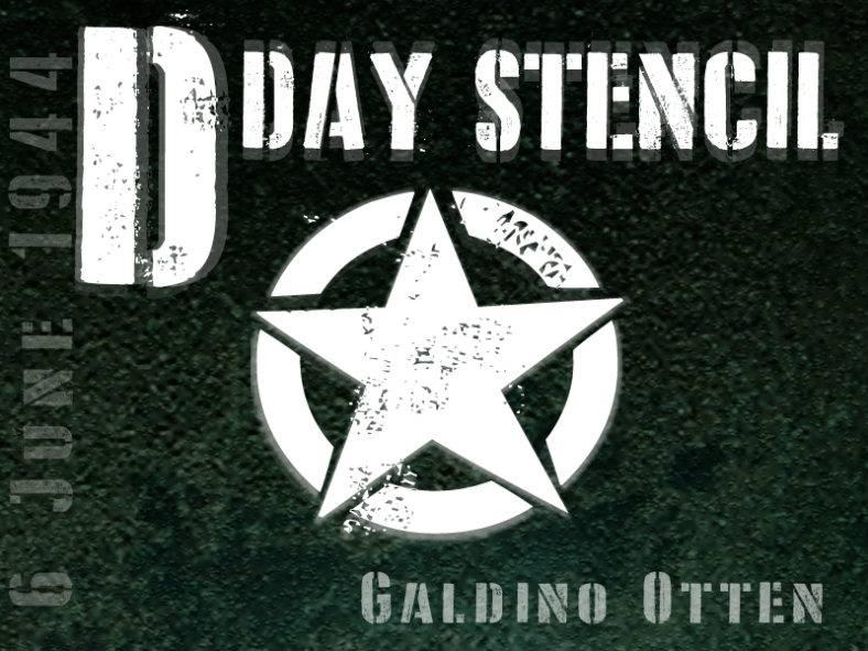 d-day-stencil