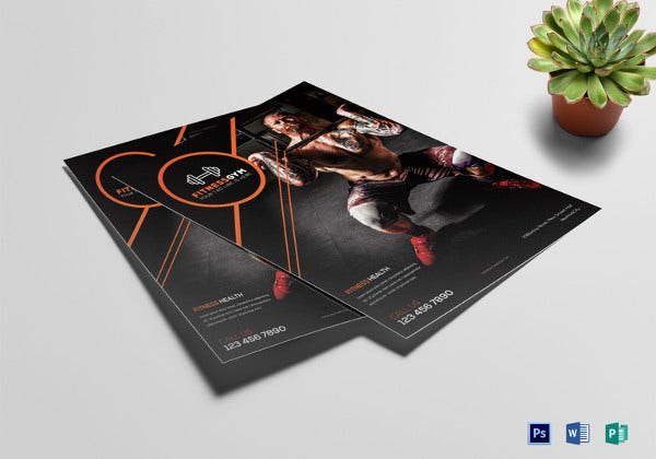 editable-fitness-gym-flyer-template