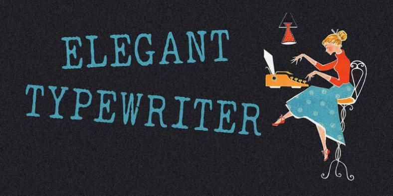 elegant-typewriter