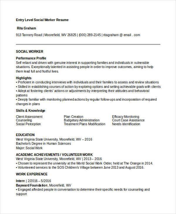 30  work resume templates in pdf