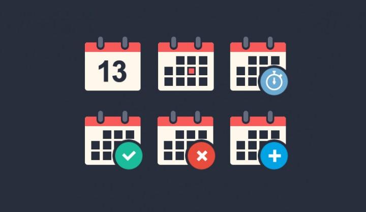 flat-calendar