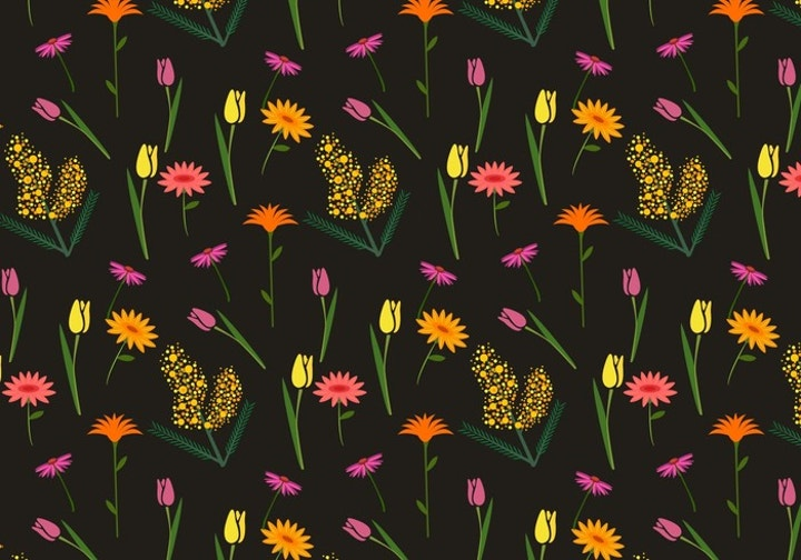 floral-mimosa-pattern