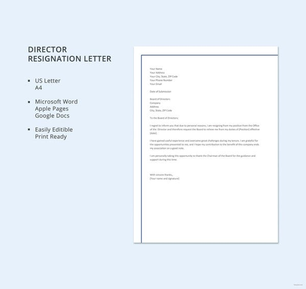 formal-director-resignation-letter-template