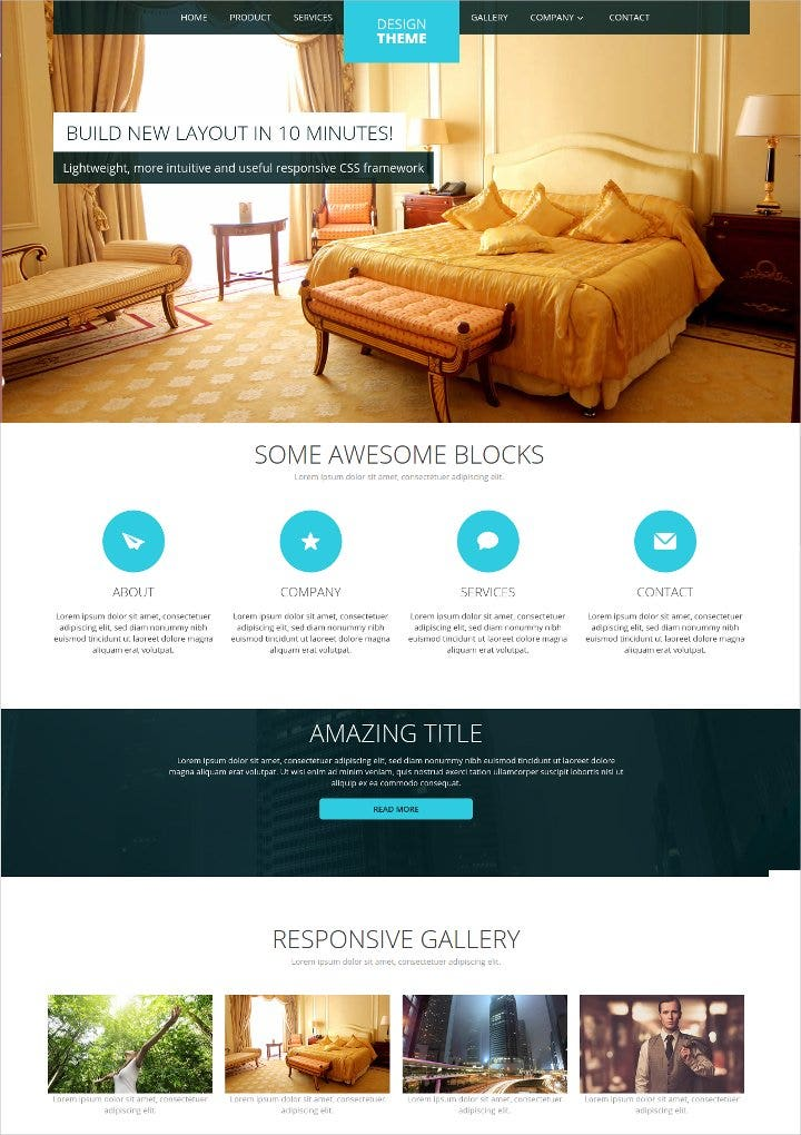 free-design-css-theme-template1