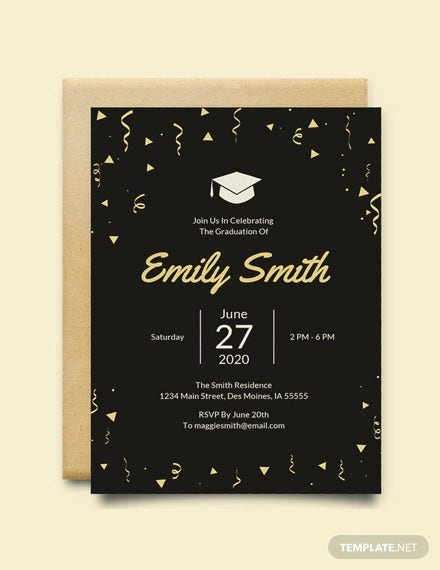 free graduation invitation template2
