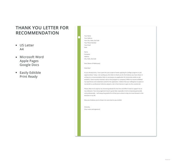 free-thank-you-letter-for-recommendation-template