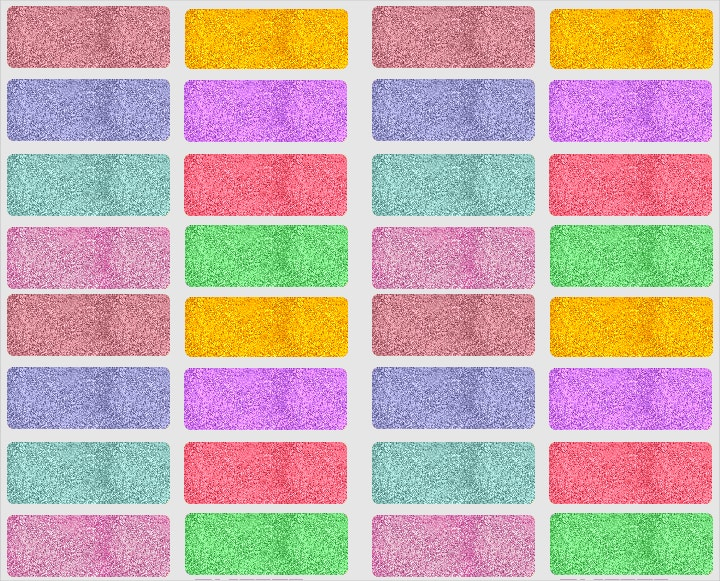 glitter pattern set1