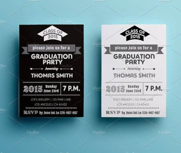 graduation party invitation flyer4