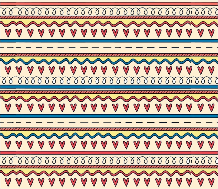 hearts-pattern-vector