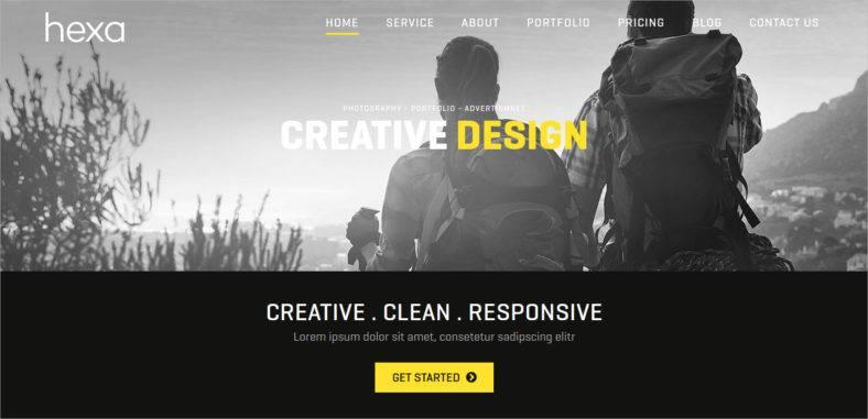 hexa-responsive-theme