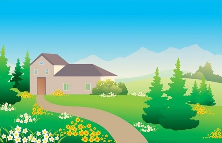 house-landscape