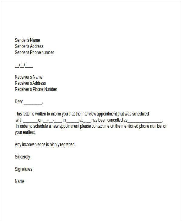 interview appointment cancellation letter1