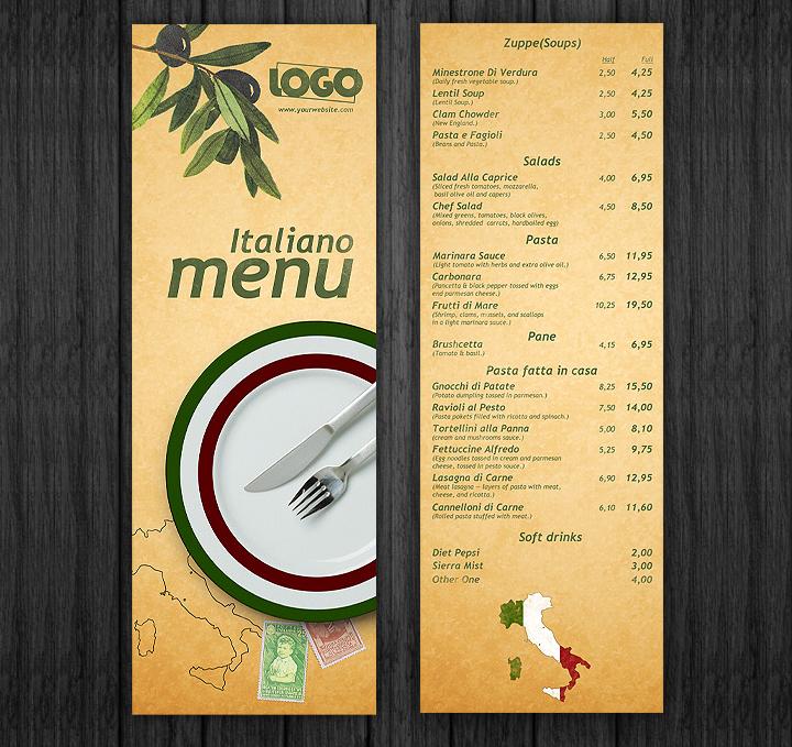 italiano-menu