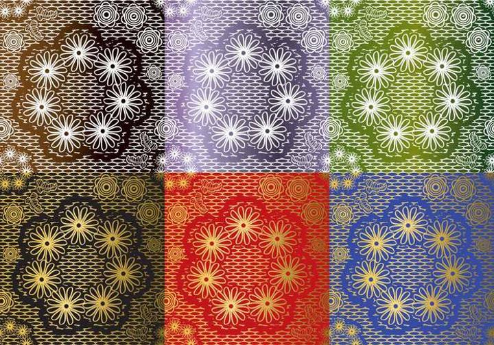lace texture set