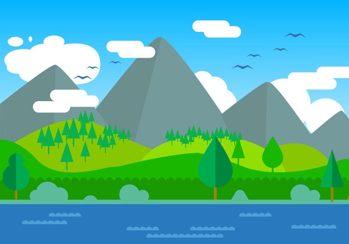 landscape-vector-illustration