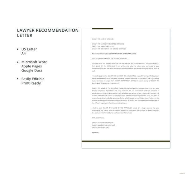 lawyer-recommendation-letter-template