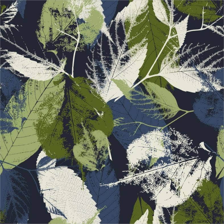 leaves-grunge-pattern