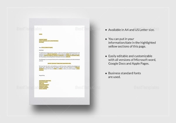 letter-of-agreement-master-professional-services-agreement-template