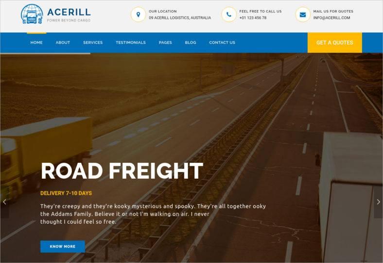 logistics-html