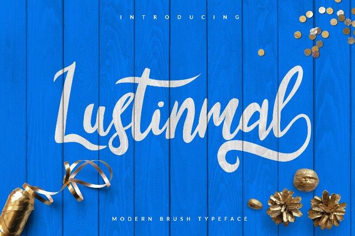 lustinamal-script-font1