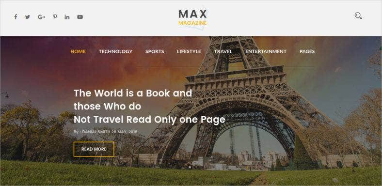 magazine-html