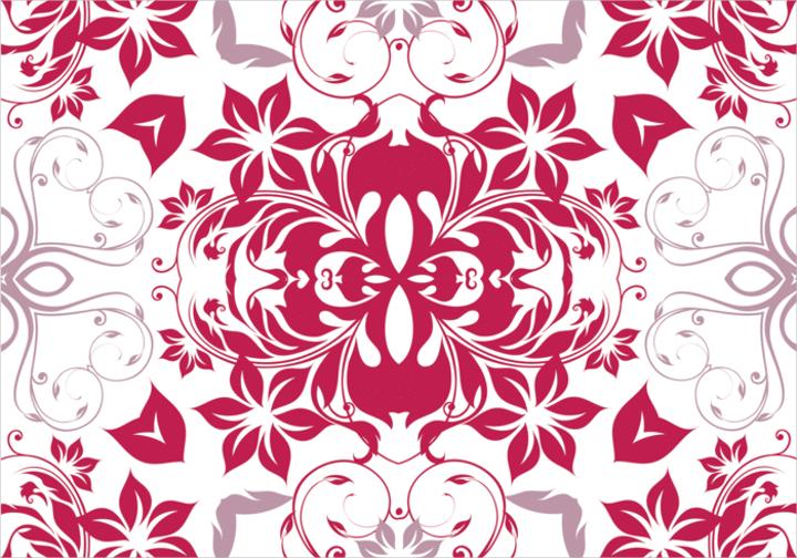 magenta-floral