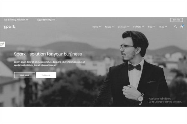 modern multipurpose html5 template2