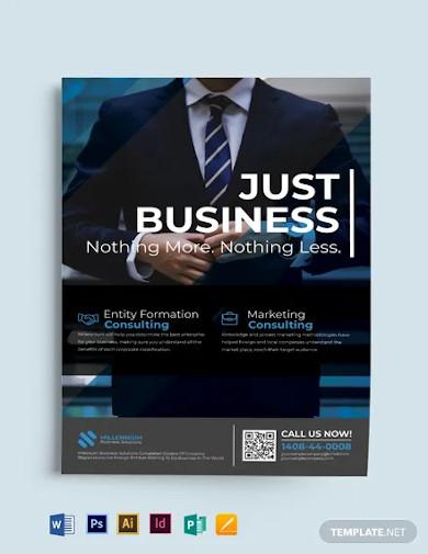 multi purpose business event flyer template