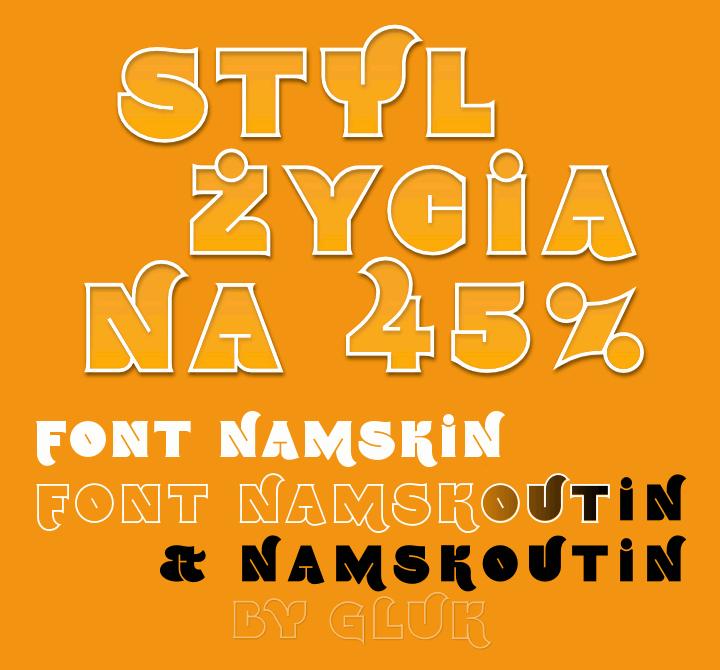 namskout-font