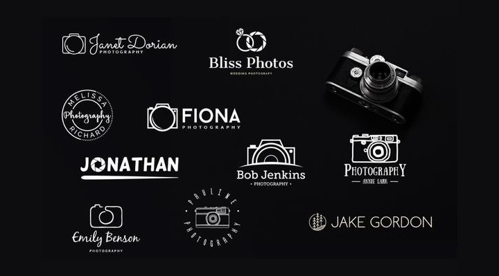 psd-photography-logo-collection