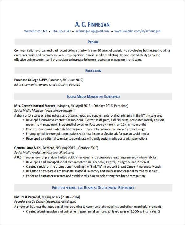 professional modern resume template1