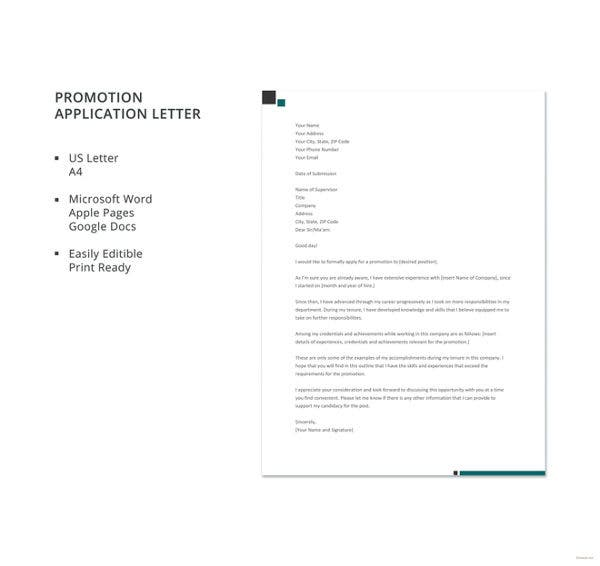 promotion-application-letter-template