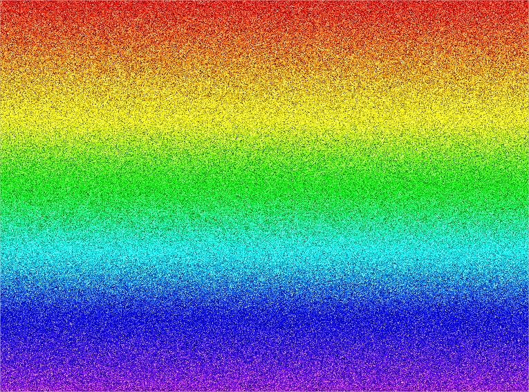 rainbow glitter pattern