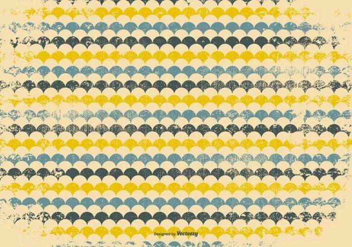 retro grunge pattern