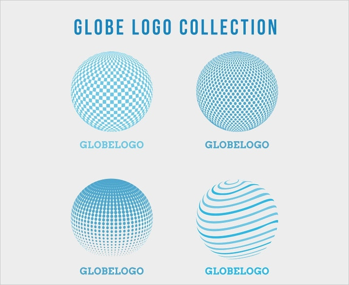 round abstract logos