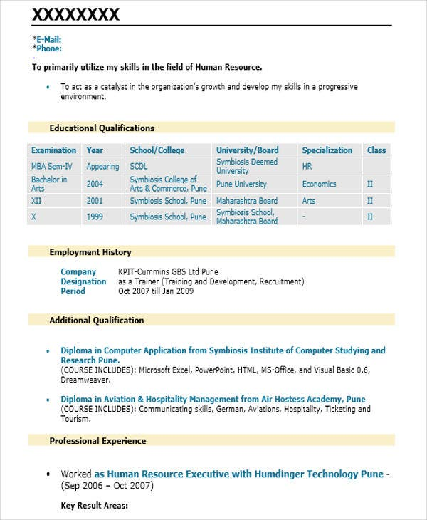 senior hr executive resume5